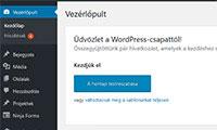wordpress tanfolyam oktatás online mit tartalmaz